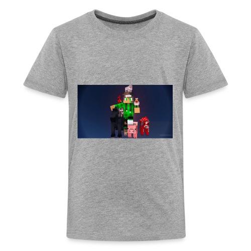 this is my youtube logo - Kids' Premium T-Shirt