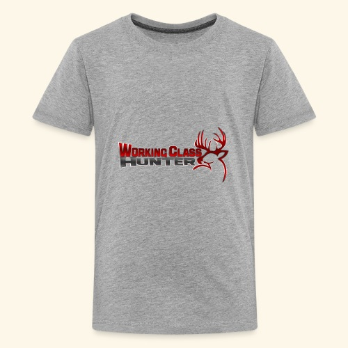 Working Class Hunter - Kids' Premium T-Shirt