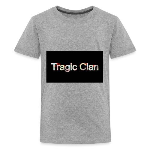 tragiic second logo - Kids' Premium T-Shirt