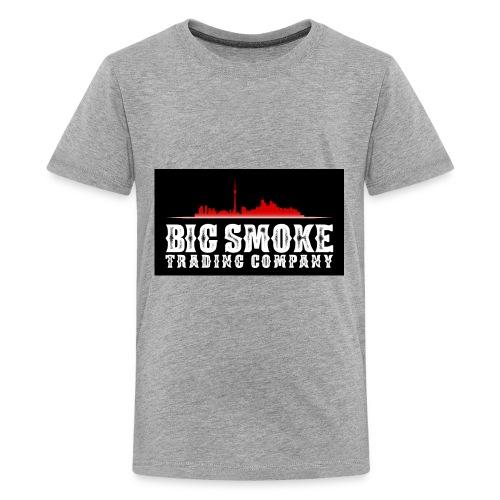 Big Smoke Trading Company Logo - Kids' Premium T-Shirt