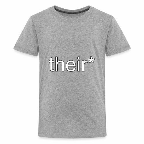 their* - Kids' Premium T-Shirt