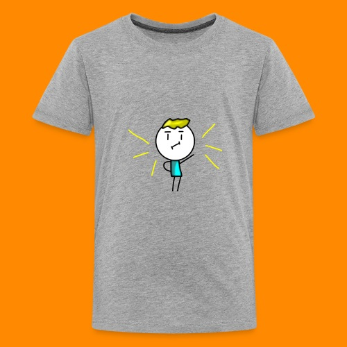 V-neck and more (Amazing Man) - Kids' Premium T-Shirt