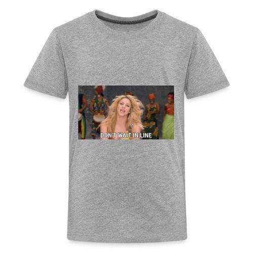 Not waiting line - Kids' Premium T-Shirt