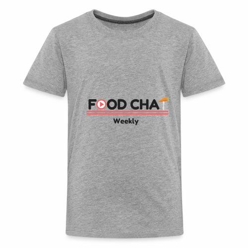 FoodChatWeekly Logo Tee - Kids' Premium T-Shirt