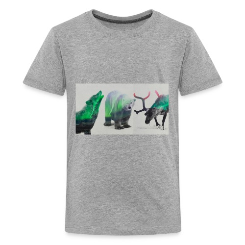 3s a crowd - Kids' Premium T-Shirt