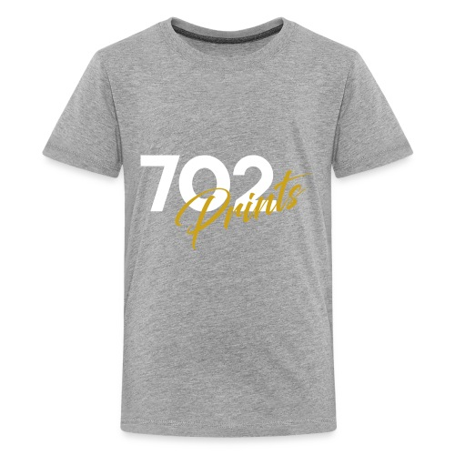 702 Prints Logo White - Kids' Premium T-Shirt