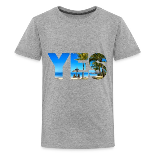 Yes to vacation - Kids' Premium T-Shirt