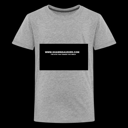Shawn Gaudier T Shirt Logo - Kids' Premium T-Shirt