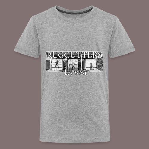 Rug cutters Black and White - Kids' Premium T-Shirt
