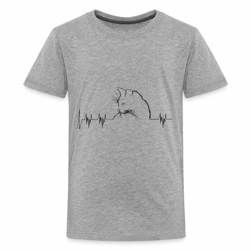 cat soundwave - Kids' Premium T-Shirt