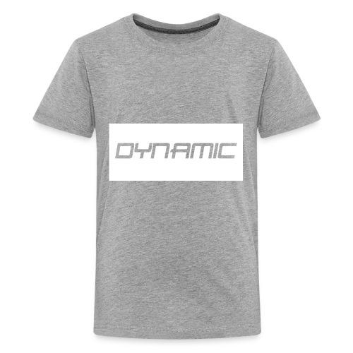 Dynamic Kids White Logo! - Kids' Premium T-Shirt