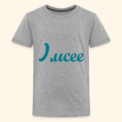 Lucee logo turquoise - Kids' Premium T-Shirt