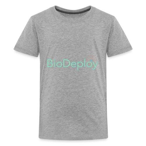 BioDeploy Logo Green Light - Kids' Premium T-Shirt