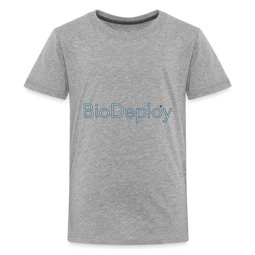 BioDeploy Logo Blue Mix - Kids' Premium T-Shirt