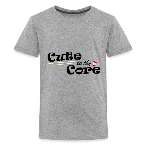 Cute to the Core - Kids' Premium T-Shirt