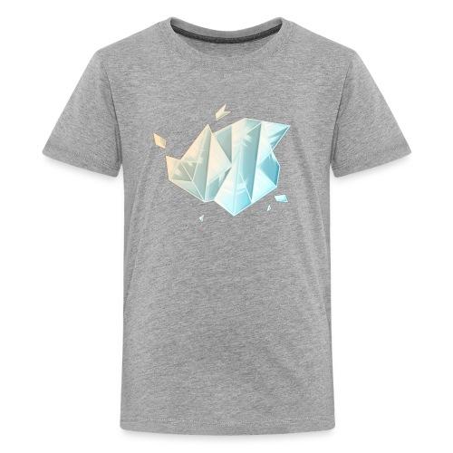 Hunter Playz Games Diamond Logo - Kids' Premium T-Shirt