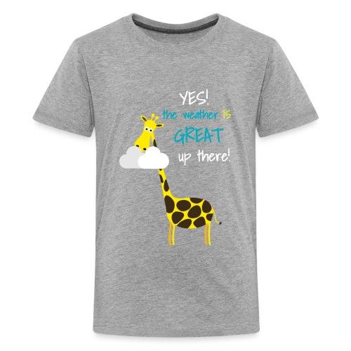 Funny Giraffe T-shirt for men women kids - Kids' Premium T-Shirt