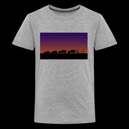 The Weekend Wagon Sunset Logo - Kids' Premium T-Shirt