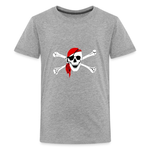Danger Pirate Skull - Kids' Premium T-Shirt