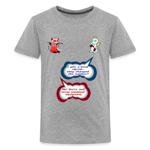 Angel and Devil - Kids' Premium T-Shirt