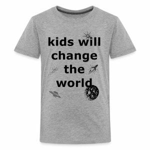 Change the World - Kids' Premium T-Shirt