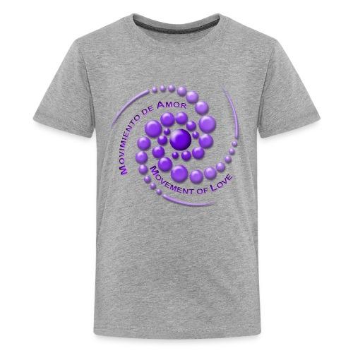 Movimiento de Amor - Kids' Premium T-Shirt