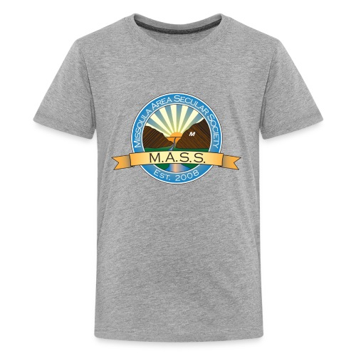 Missoula Area Secular Society Logo - Kids' Premium T-Shirt