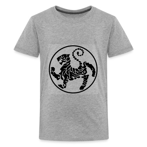 Shotokan-Tiger_black - Kids' Premium T-Shirt