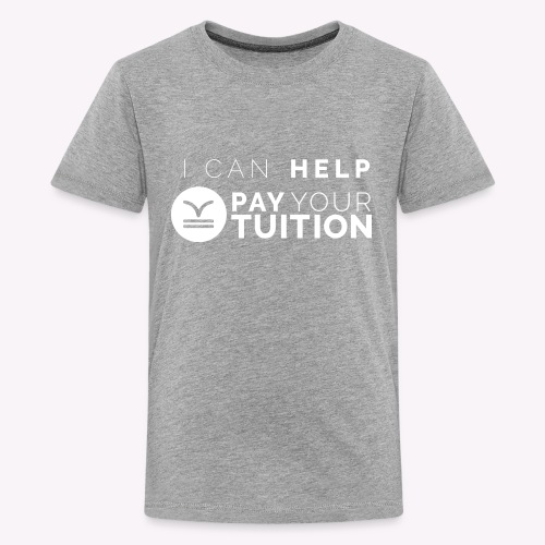White PYT Logo - Kids' Premium T-Shirt