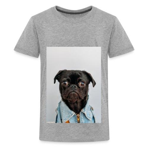 pug expression cute dog t-shirt - Kids' Premium T-Shirt