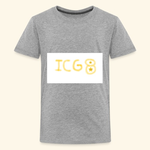 ICG8 with Paint - Kids' Premium T-Shirt