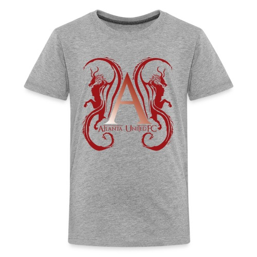 AUFC Logo red - Kids' Premium T-Shirt