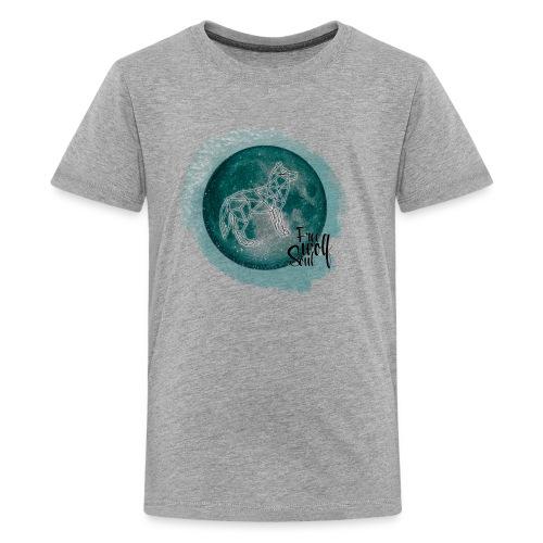 Galaxy Wolf - Free Wolf Soul - Kids' Premium T-Shirt