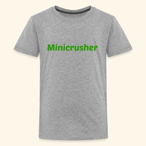 Minicrusher design - Kids' Premium T-Shirt