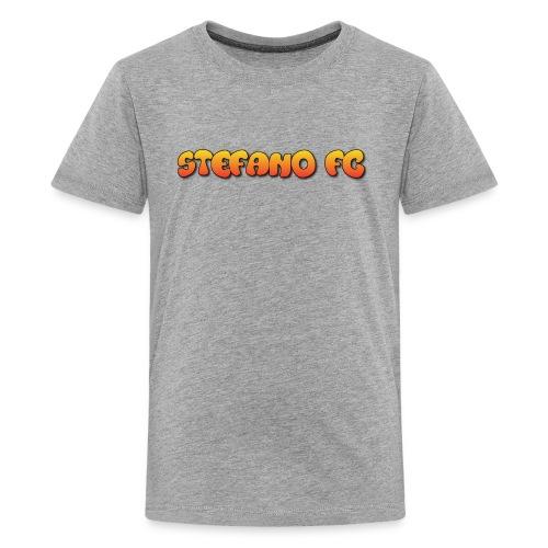 Stefano FC Text - Kids' Premium T-Shirt