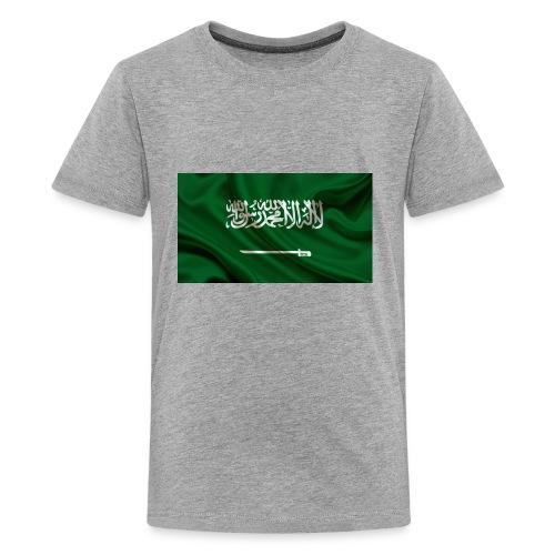 Saudi Aarabi - Kids' Premium T-Shirt