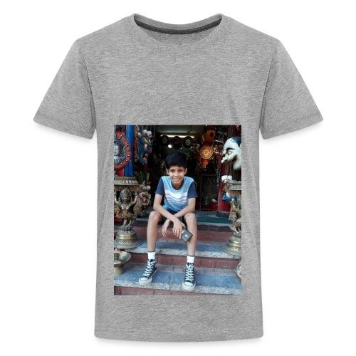 Ayushman Pokhrel's Merch - Kids' Premium T-Shirt