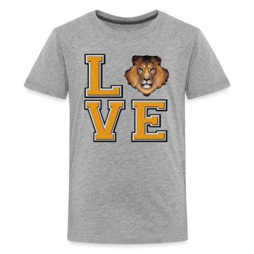 Lion Love Gold Box - Kids' Premium T-Shirt