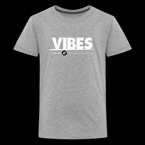 1NE VIBE WHT - Kids' Premium T-Shirt
