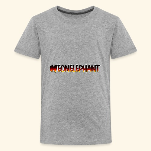 NEONELEPHANT - Kids' Premium T-Shirt