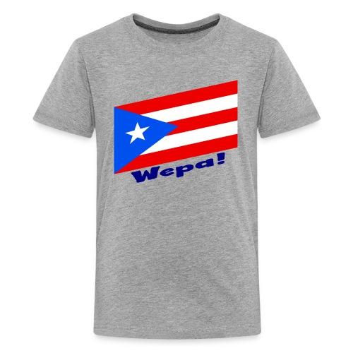 Puerto Rico - Wepa! - Kids' Premium T-Shirt