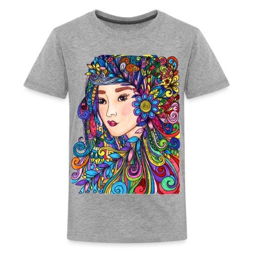 woman - Kids' Premium T-Shirt