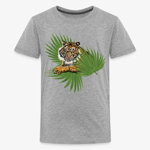 Relaxed Tiger - Kids' Premium T-Shirt