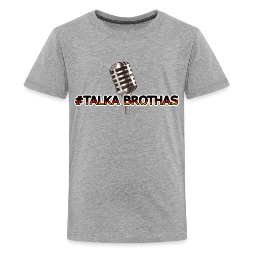 Talka Brothas Mic-Check - Kids' Premium T-Shirt