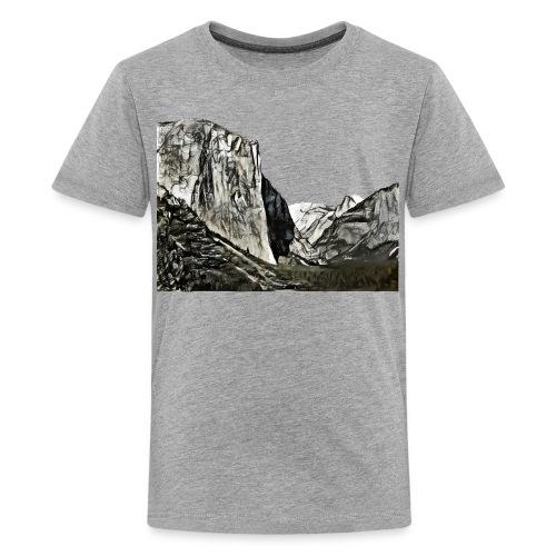 West face of El Capitan - Yosemite National Park - Kids' Premium T-Shirt