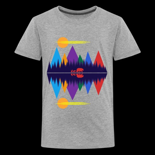 Bear and Cubs - Kids' Premium T-Shirt