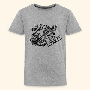 Life is the bubbles - Kids' Premium T-Shirt