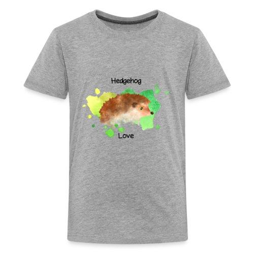 Hedgehog Love - Kids' Premium T-Shirt