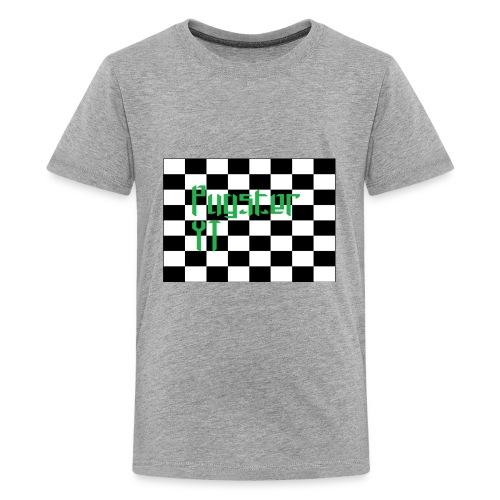 Checkers Pug - Kids' Premium T-Shirt