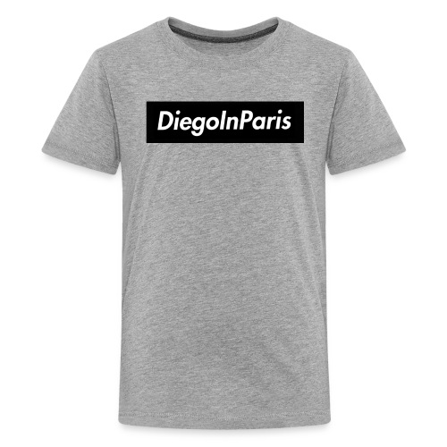 DiegoInParis Box Logo - Kids' Premium T-Shirt